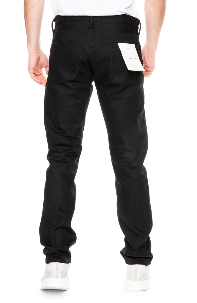 Simon Miller M001 Narrow Jean in Macon Black
