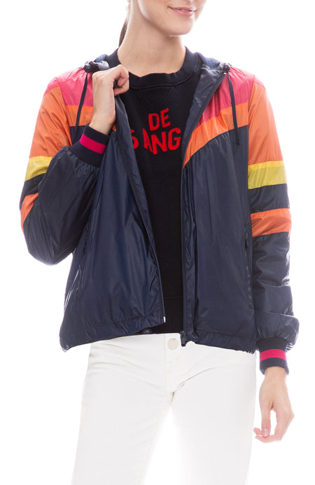 Triple Stripe Windbreaker