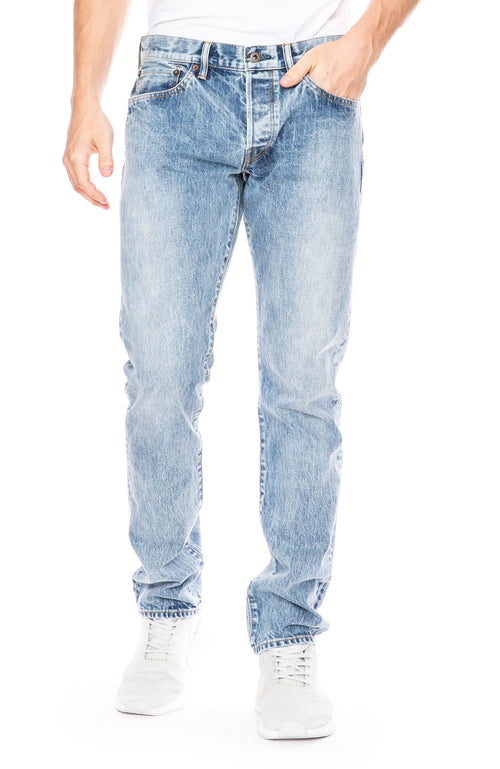 Simon Miller M001 Narrow Jean in Acid Wash