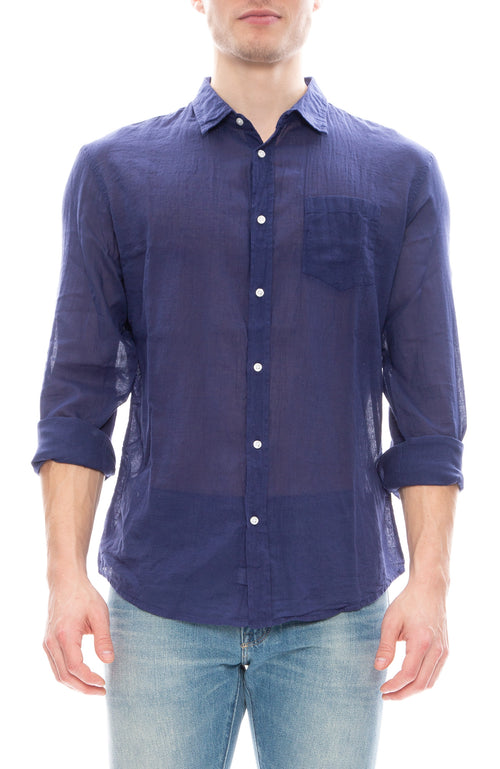 Luke Voile Button Down Shirt
