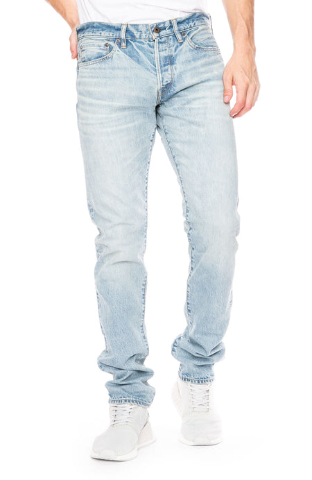 M001 Narrow Jean in Pitco
