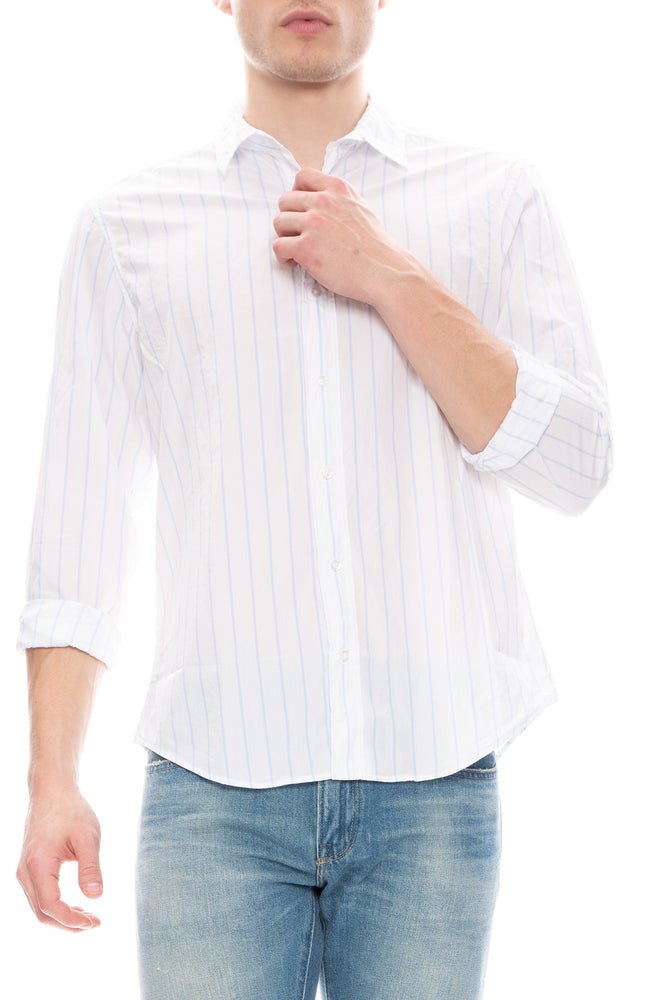 Paul Striped Poplin Shirt
