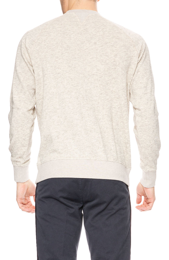Presidents Crew Neck Wool Blend Sweatshirt at Ron Herman