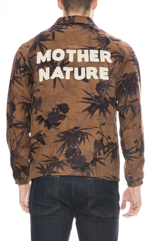 Ziran Mens Mother Nature Coaches Jacket in Bamboo