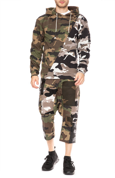 Mostly Heard Rarely Seen Fugazi Camo Hoodie at Ron Herman