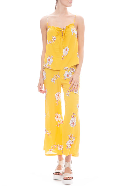 Flynn Skye Lucca Tank and Tanner Pants in Marigolden Yellow Print