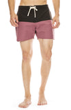 Saturdays Surf NYC Ennis Boardshort in Black / Light Plum