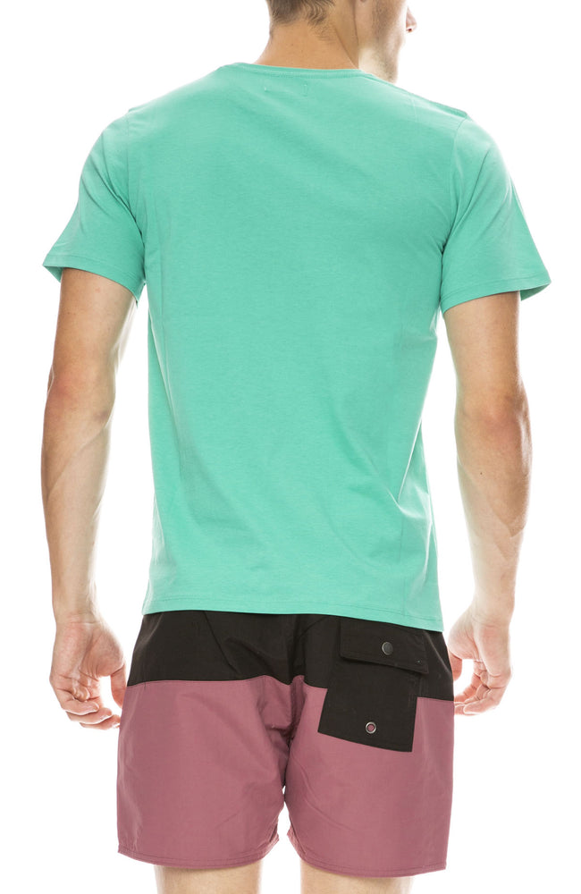 Saturdays Surf NYC Saturdays T-Shirt in Seafoam Green