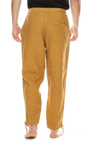 Saturdays Surf NYC Markus Drawstring Pant in Burnt Khaki