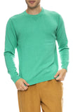 Saturdays Surf NYC Everyday Classic Sweater in Seafoam Green