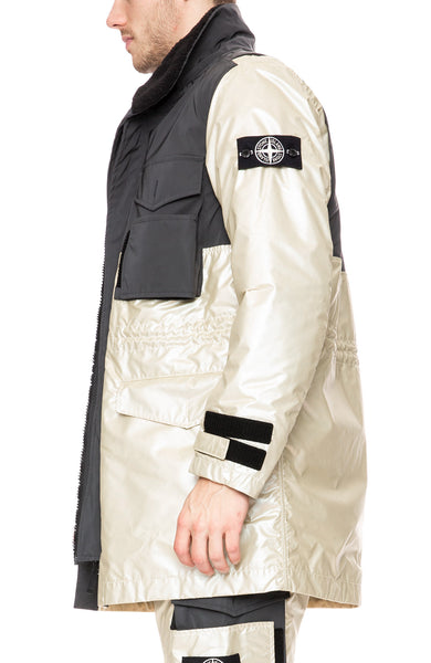 Stone Island Iridescent Coated Reflective Jacket at Ron Herman