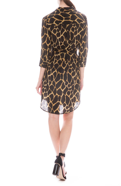 Sienna Safari Shirt Dress