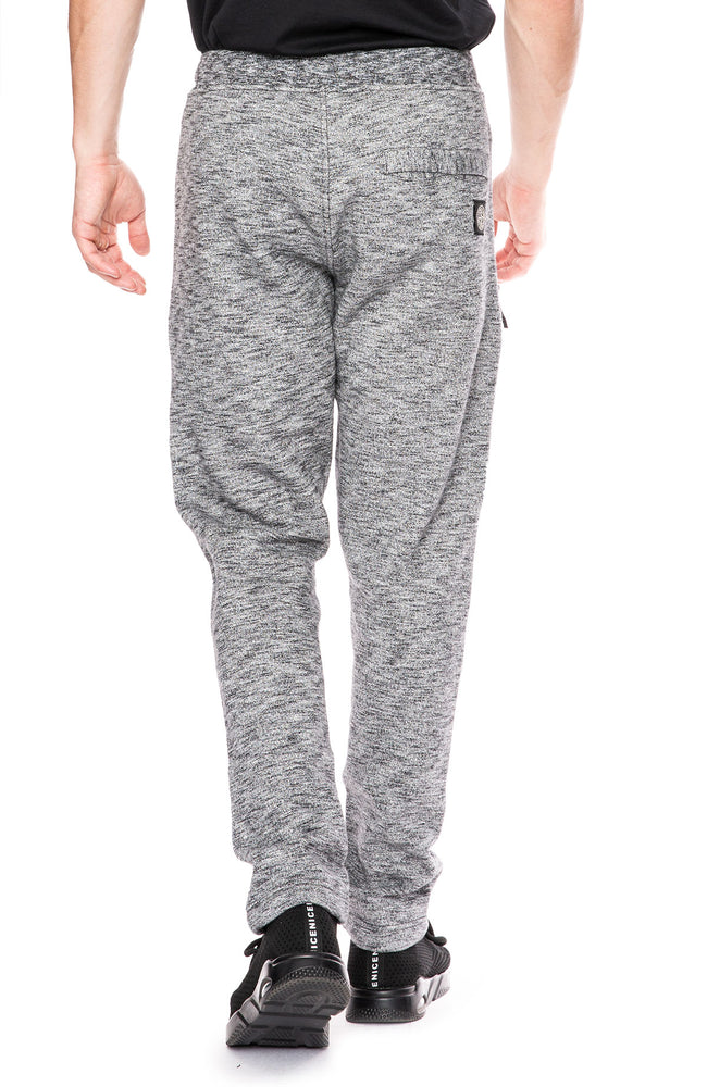 Stone Island Fleece Jogging Pants with Zippers at Ron Herman