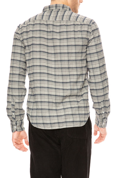 Save Khaki Plaid Flannel Work Shirt in Sprout at Ron Herman