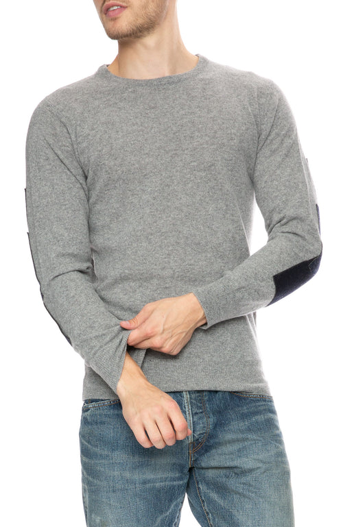 The Goodpeople Fonsy Elbow Patch Sweater at Ron Herman