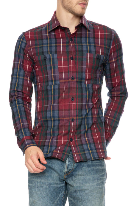 Winter Flannel Button Down Shirt