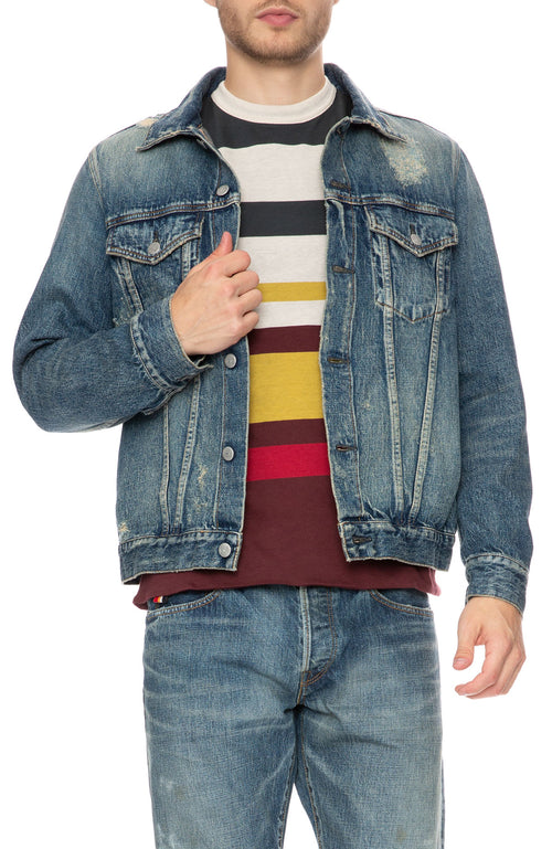 HBNS Denim Repair Jacket at Ron Herman