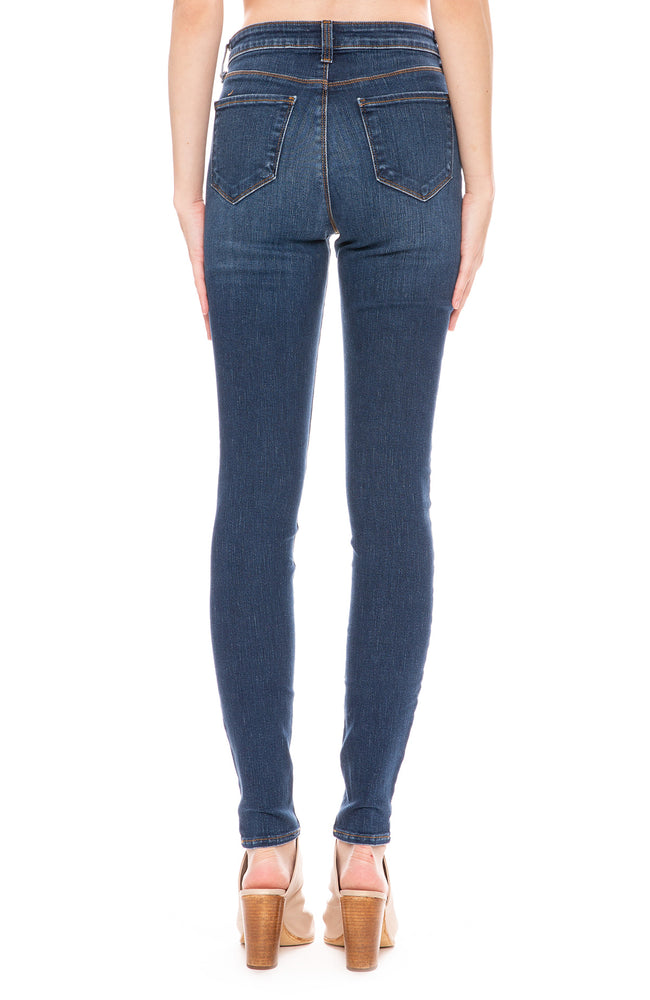 L'Agence Marguerite High Rise Skinny in Tuscan at Ron Herman