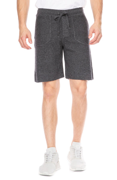 Ron Herman Exclusive Cashmere Sweatshorts in Charcoal at Ron Herman