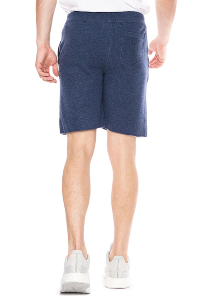 Ron Herman Exclusive Cashmere Sweatshorts in Poseidon Blue at Ron Herman