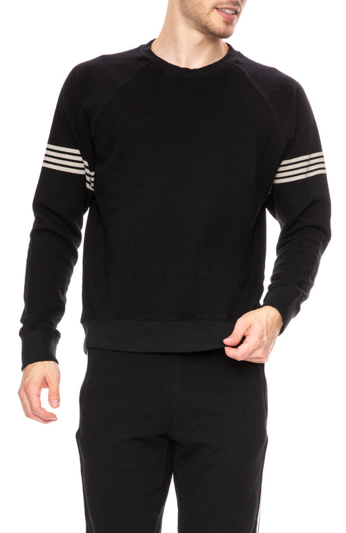 Mother Mens Champ Crew Sweatshirt in Running Around at Ron Herman