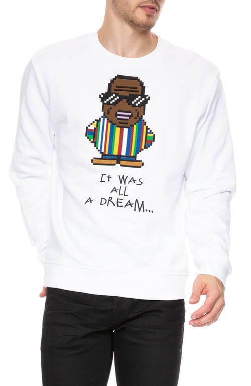 Mostly Heard Rarely Seen 8-Bit Big Papa Crew Sweatshirt at Ron Herman