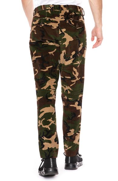 Moncler Camo Cord Pants at Ron Herman