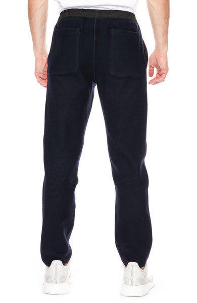 AMI Jogging Pants in Navy at Ron Herman