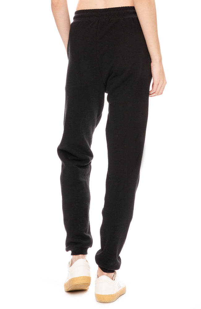 John Elliott Womens Matador Sweatpants in Black