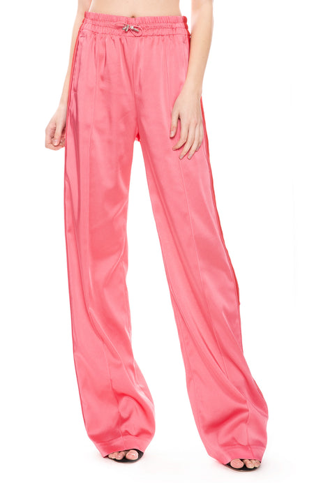 Sateen Combo Track Pants