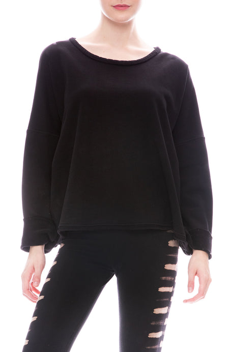 Boxy Fleece Sweatshirt