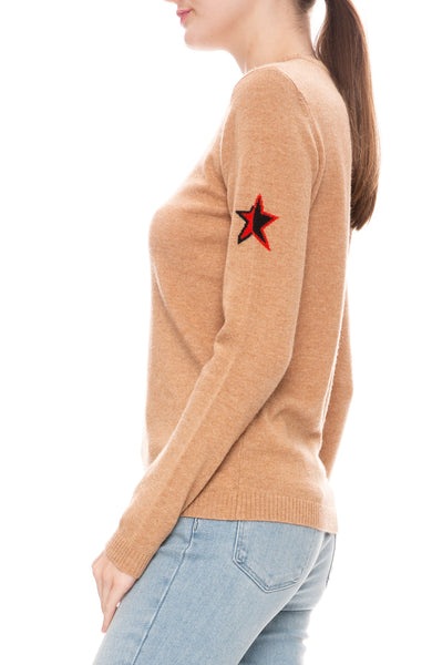 Bella Freud Forever Jumper Sweater in Biscuit
