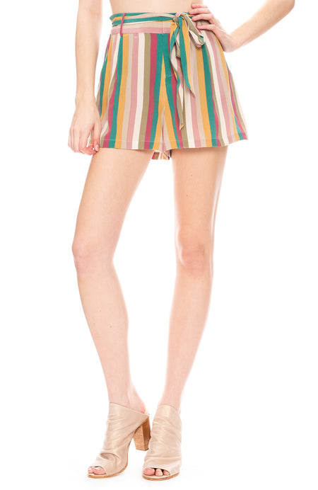 Gigi Stripe Shorts