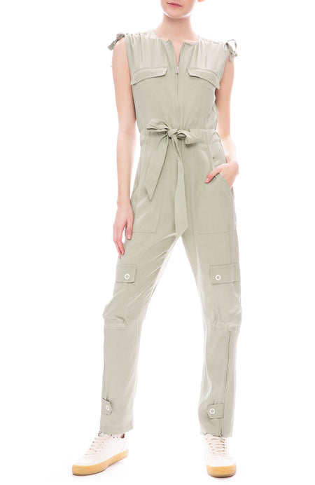 Lux Twill Fly Jumpsuit