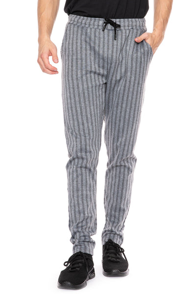 Native Youth Graduate Double Pinstripe Jogger Pant at Ron Herman