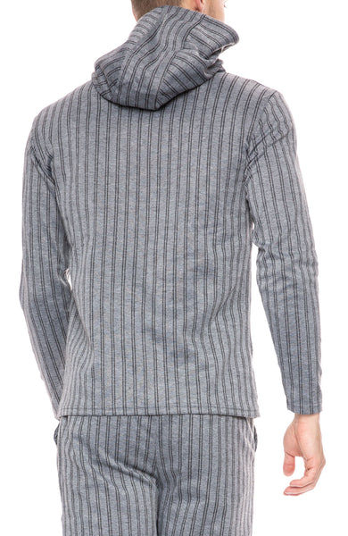Native Youth Graduate Double Pinstripe Hoodie at Ron Herman