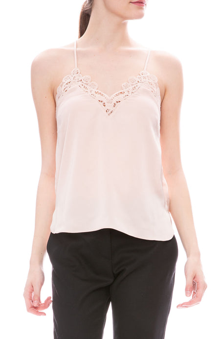 Threaded Lace Camisole