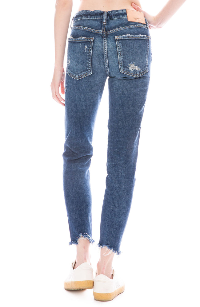 Moussy Vintage MV Glendele Skinny Jean in Blue