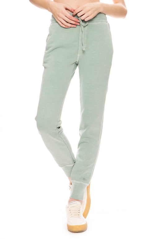 AMO Classic Sweatpants in Agave Green
