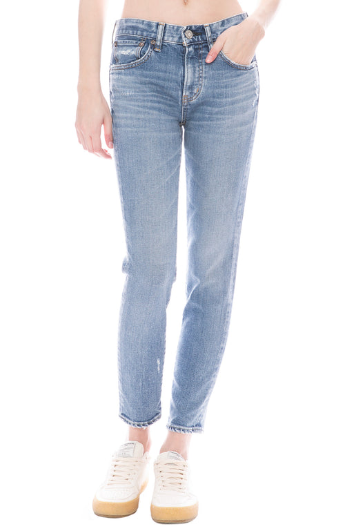 Moussy Vintage MV Edmond Skinny Jean in Blue