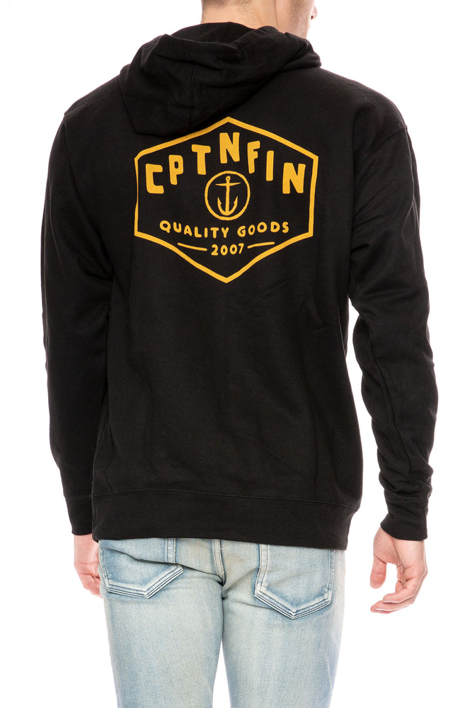 Captain Fin Hexy Pullover Hoodie at Ron Herman