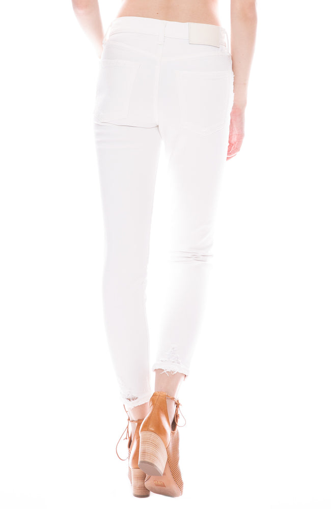 Moussy Vintage MV Velma Skinny Jean in White