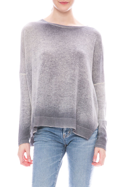 Avant Toi Round Neck Shadow Pullover at Ron Herman