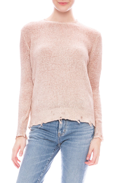 Avant Toi brushed cotton pullover sweater at Ron Herman