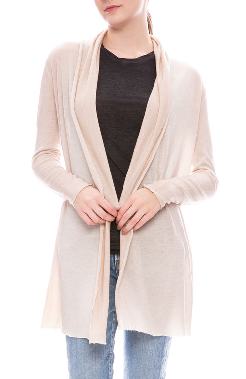 Avant Toi draped shawl cardigan at Ron Herman