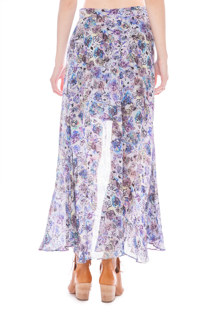 IRO Trent Open Maxi Skirt at Ron Herman