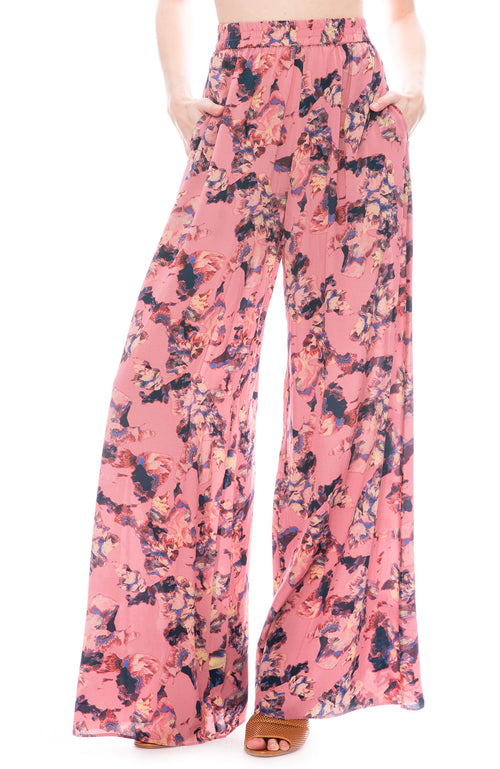 IRO Tanny Floral Silk Pant at Ron Herman