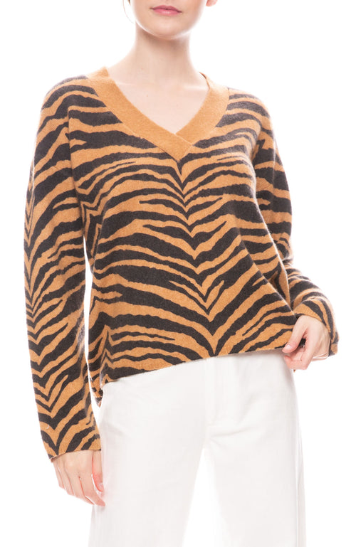 Eleanor Tiger Sweater