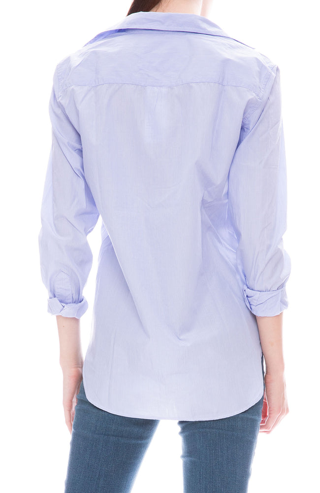 Frank Pinstripe Button Down Shirt