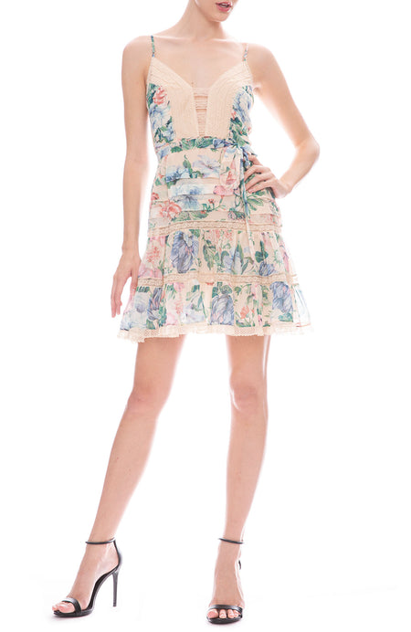 Verity Scallop Short Dress